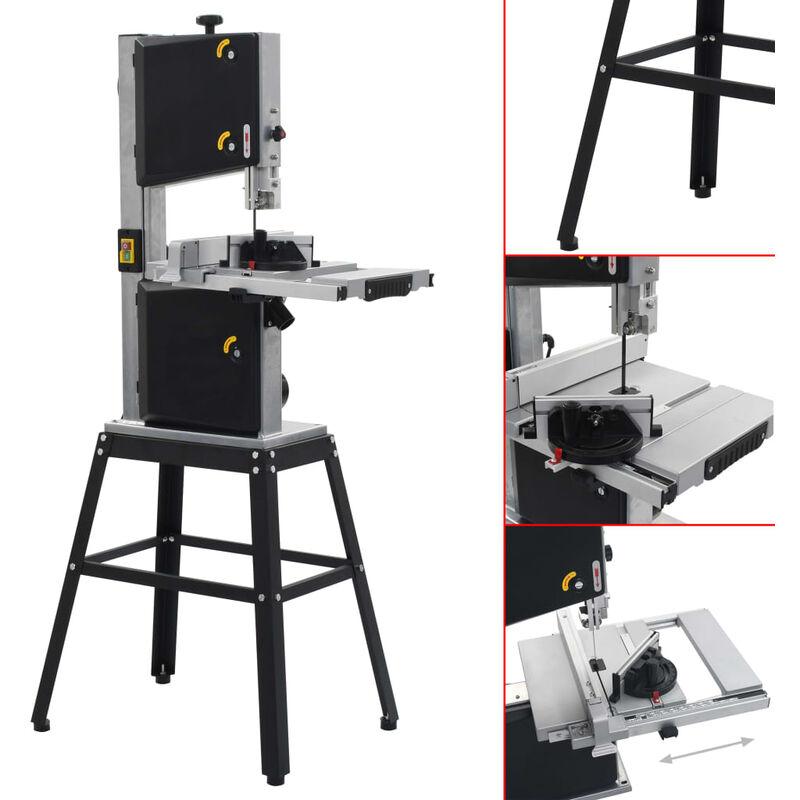 vidaXL sierra de cinta de madera sierra de cinta de metal soporte de mesa de trabajo de acero Soporte para sierra de cinta soporte de sierra