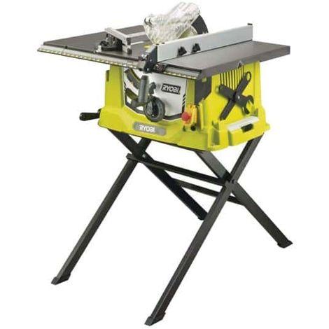 Sierra de mesa eléctrica RYOBI 1800W 254mm - base y prolongación retráctil - RTS1800ES-G