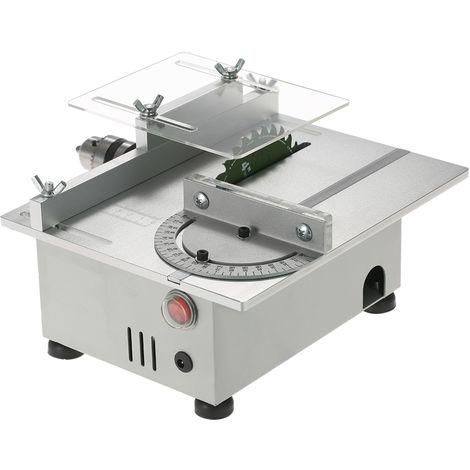 Sierra de mesa, sierra de mesa para carpinteria, 7000 rpm, 100 W, CC 12-24 V