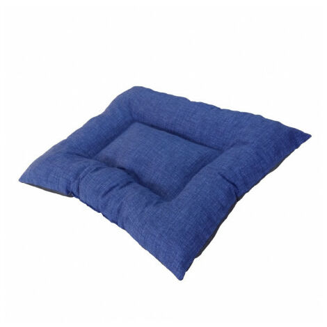 Siesta Colchón Compact Azul Cama para Perros - 60x80 cm