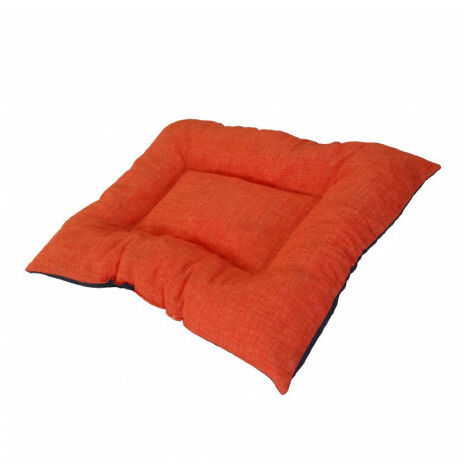 Siesta Colchón Compact Naranja Cama para Perros - 70x100 cm