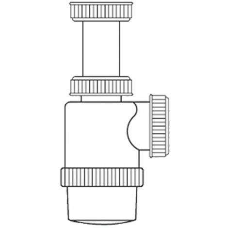 Sifon Botella Extensible 1'' 1/2'' - NEOFERR..