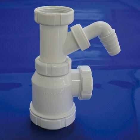 Sifon botella extensible t-4-t 1 1/2 toma lavadora