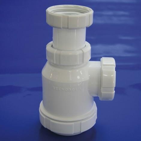 Sifon Botella Extensible T-4-VA 1 1/2 Válvula Automática - NEOFERR..