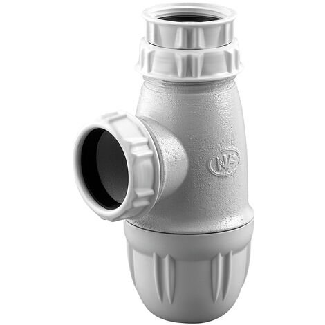 "main image of ""sifón de plástico para lavabo salida Ø40 G1""1/4"""