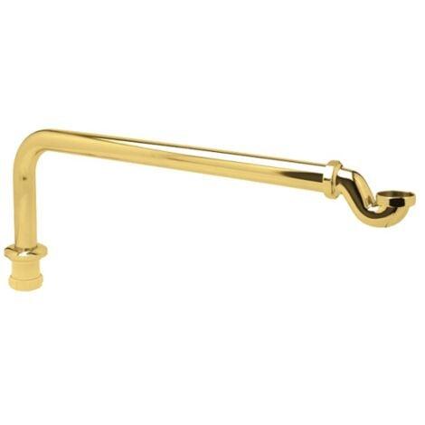 Sifón Dorado IMPERIAL® para bañeras de hierro fundido y de Resicryl® retro