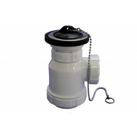 Sifon Evacuacion Botella Ø70 - 1 1/2 Valvula T-3 Hidrot