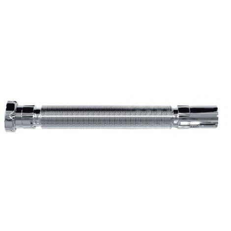 Sifón flexible cromado sin válvula diámetro 32 A-131de Jimten