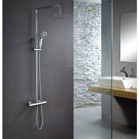 Sifon lavabo cromado visto redondo - IMEX