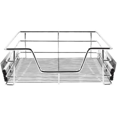 SiFree®Paniers Coulissants pour Placard ou Cabinet de Cuisine de 60cm. Tiroirs coulissants à système de fermeture amortie