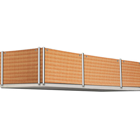 Sight Protection Balcony Garden 5 m Reed Design