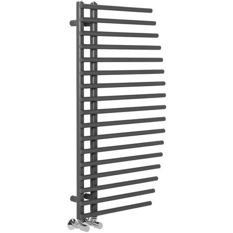 Sigla 1000 x 550mm Grey Designer Heated Towel Rail