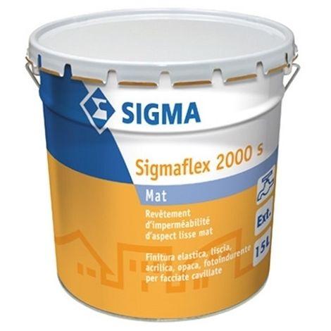 SIGMAFLEX MAT 2000S 15 L - Revêtement imperméabilité Blanc- SIGMA