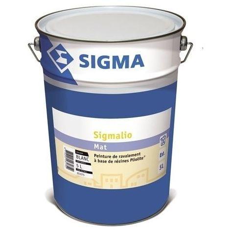 SIGMALIO BLANC 15L - Peinture de ravalement mate à base de résines Pliolite® pour façade - SIGMA