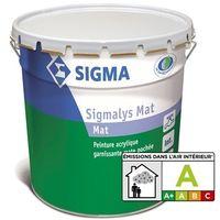 L Peinture Mate 1 Pochée MatBlanc Futura Garnissante Sigma Sigmalys mn0wNOv8