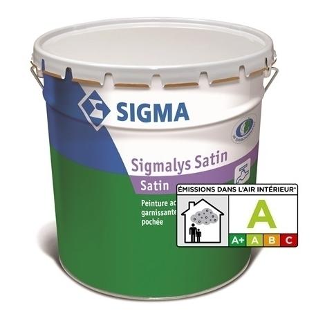 SIGMALYS SATIN - SIGMA - Peinture acrylique satinée pochée