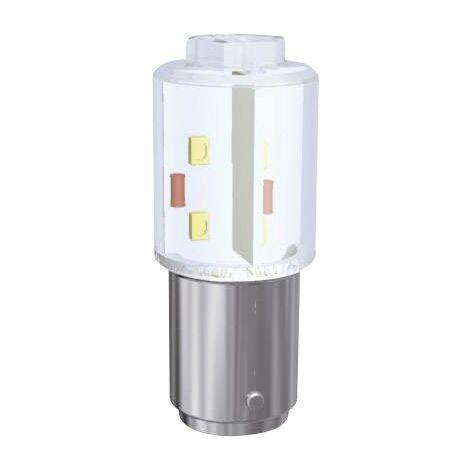 Signal Construct Voyant de signalisation LED BA15d jaune 230 V/DC, 230 V/AC 900 mlm MBRD151618 Q37250