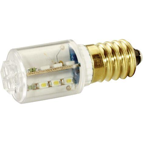 Signal Construct Voyant de signalisation LED E14 blanc chaud 24 V/DC, 24 V/AC 14 mlm MBRE140854 Q34879