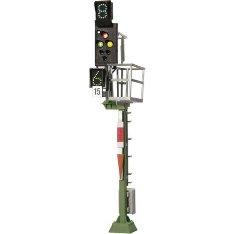 Signal multi-section signal lumineux Ks H0 Viessmann 4045 comme signal d'entrée modèle fini DB 1 pc(s) S90300