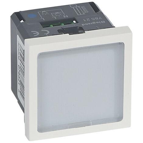 Signalétique lumineuse à LEDs bleues Mosaic 2 modules avec 1 état et puissance 0,2W ou 1W au choix (078521)