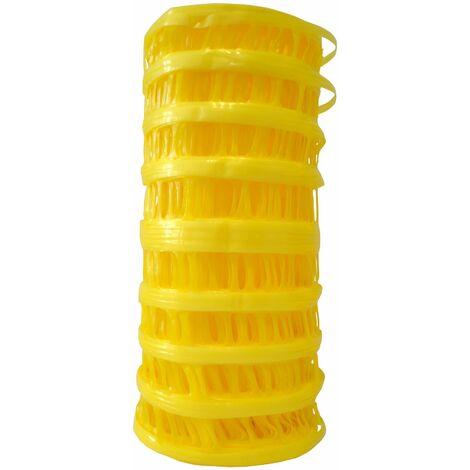 Signalisation chantier, Grillage avertisseur jaune conduites de gaz - le rouleau de 0,3 x 25 m