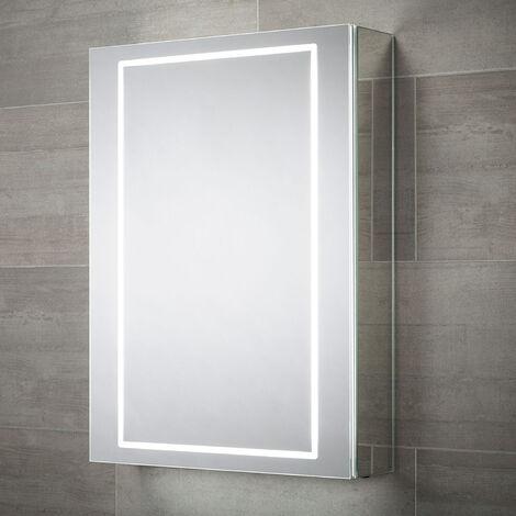 Signature 1-Door Mirrored Bathroom Cabinet 700mm H x 500mm W