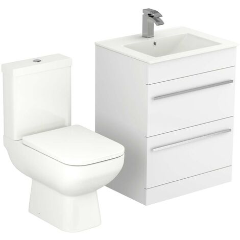 Signature 600mm Vanity Unit & Toilet Suite