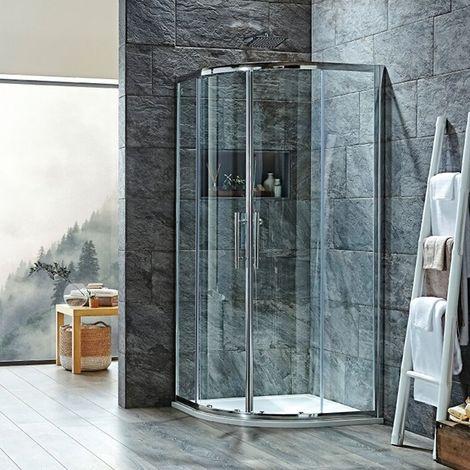 Signature 8mm Double Door Quadrant Shower Enclosure 900mm x 900mm