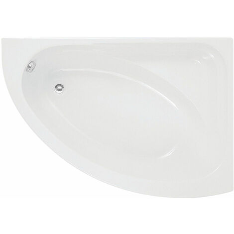 Signature Artemis Offset Corner Bath 1500mm x 1020mm Right Handed - 0 Tap Hole