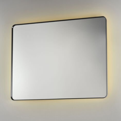 Signature Backlit LED Angled Frame Bathroom Mirror 800mm H x 1200mm W