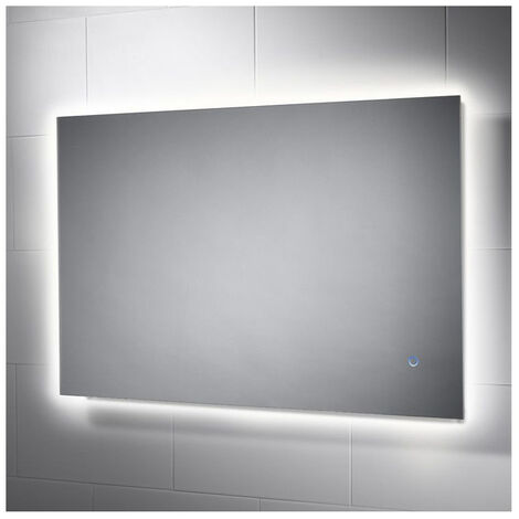 Signature Backlit LED Bathroom Mirror with Demister Pad 600mm H x 900mm W