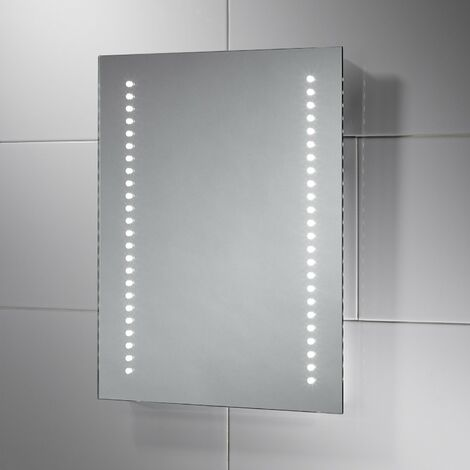 """main image of """"Signature Calypso Infrared LED Bathroom Mirror with Demister Pad 700mm H X 500mm W"""""""