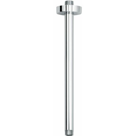 Signature Ceiling Mounted Round Shower Arm - Chrome
