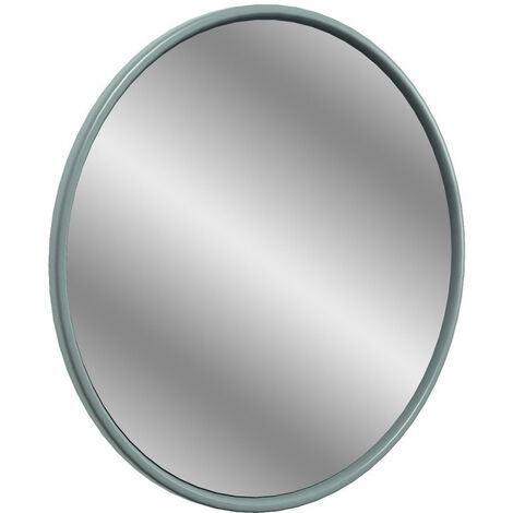 Signature Copenhagen Round Bathroom Mirror 550mm Diameter - Sea Green