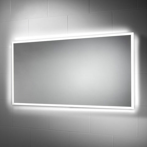 Signature LED Bathroom Mirror 600mm H x 1200mm W