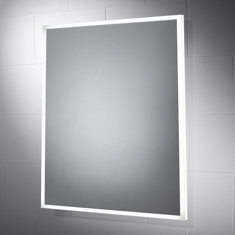 Signature LED Bathroom Mirror with Demister Pad 600mm H x 500mm W