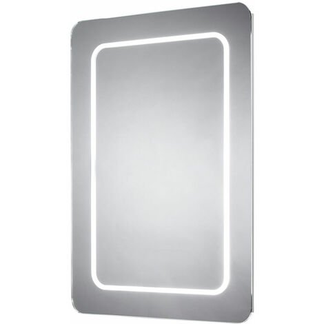 Signature LED Bathroom Mirror with Demister Pad 800mm H x 600mm W