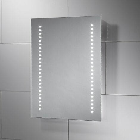 Signature LED Battery Bathroom Mirror 500mm H x 390mm W