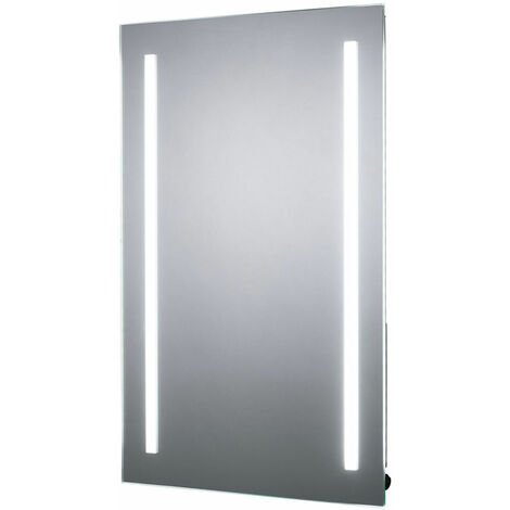 Signature LED Battery Bathroom Mirror 700mm H x 500mm W