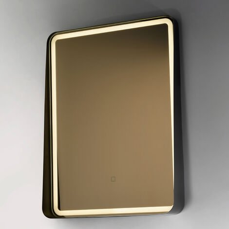 Signature LED Curved Frame Bathroom Mirror 800mm H x 600mm W
