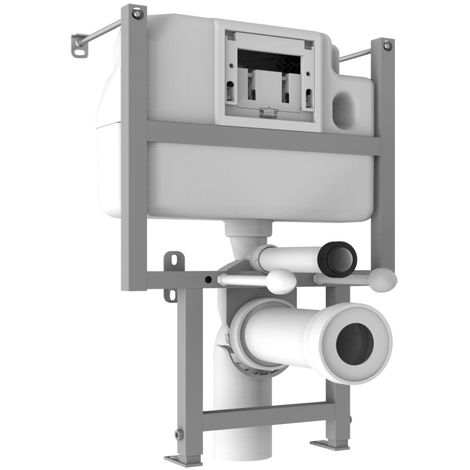 Signature Low Height WC Frame with Dual Flush Concealed Cistern