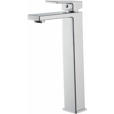 Signature Lys Tall Basin Mixer Tap Deck Mounted - Chrome