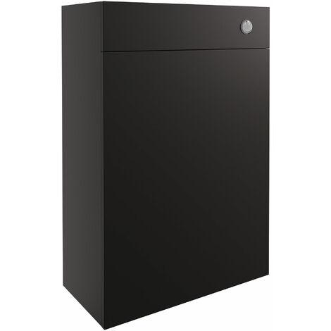 Signature Oslo Back to Wall WC Toilet Unit 600mm Wide - Matt Graphite Grey