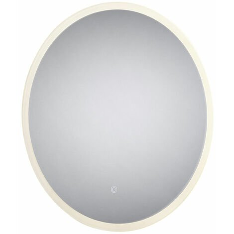 Signature Round LED Bathroom Mirror with Demister Pad 600mm Diameter