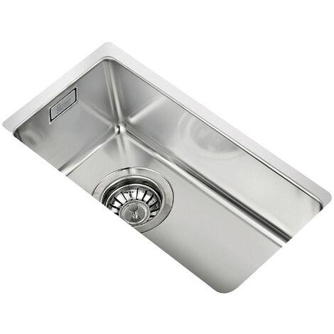 Signature Teka 1.0 Bowl Undermount Kitchen Sink with Waste Kit 217 L x 437 W - Stainless Steel