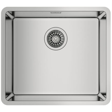 """main image of """"Signature Teka Linea 1.0 Bowl Undermount Kitchen Sink with Waste Kit 490mm L x 440mm W - Stainless Steel"""""""