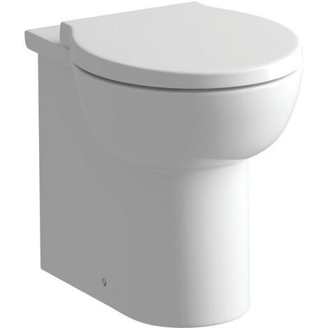 Signature Tikal Back To Wall Toilet 530mm Projection - Soft Close Seat