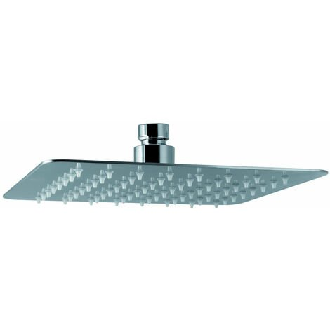 Signature Ultraslim Square Shower Head 250mm x 250mm - Chrome