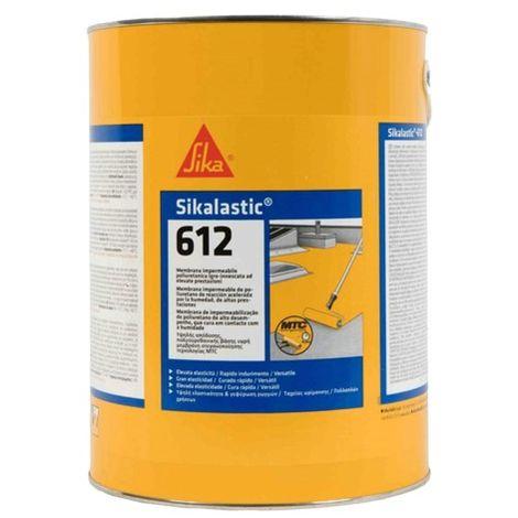 Sika 612 impermeabilizzante sikalastic 612 monocomponente liquido poliuretanico
