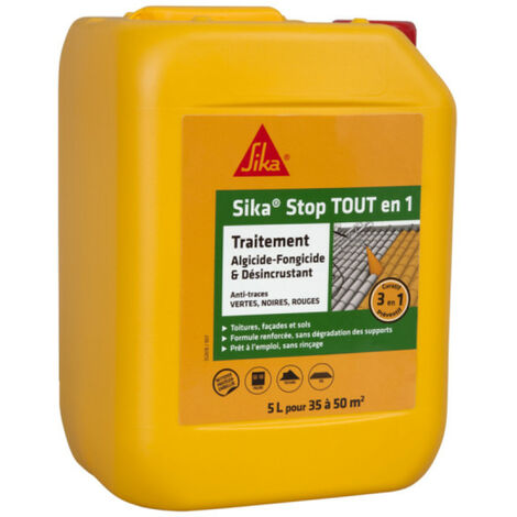 SIKA Detener el tratamiento curativo y desincrustante todo en uno 1 - 5L
